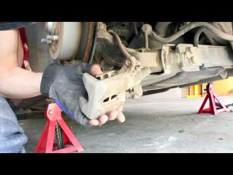 How to replace rear brake pads on a Honda Civic