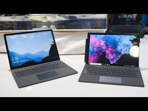 Microsoft Surface Pro 6 and Laptop 2 hands-on