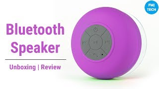WaterProof Bluetooth Shower Speaker | Unboxing + Review  😎