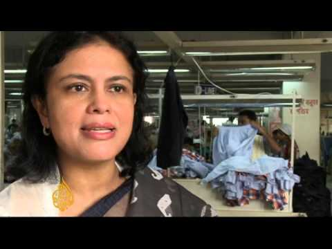 Garment workers return to work in Bangladesh