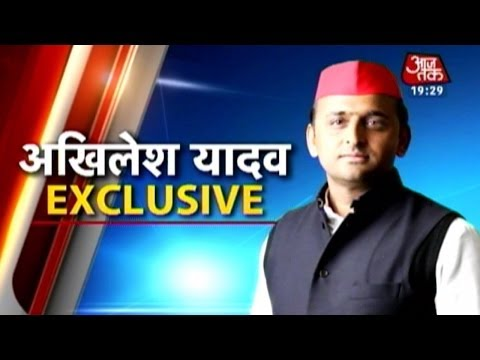 Exclusive interview with UP CM Akhilesh Yadav
