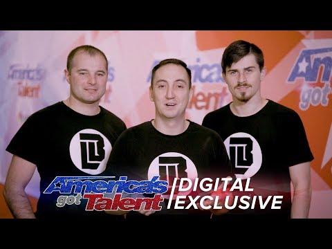 Light Balance Sends Love To Their Fans - America's Got Talent 2017