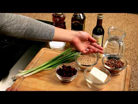 How to make a wheat berry salad - #1 - Ingredients — Appetites®