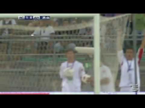 [HD] Inter Milan vs Juventus 1-0 (13-08-10)