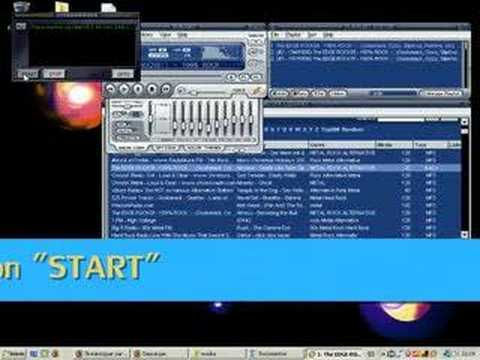 grabar musica de winamp: