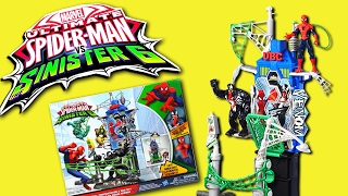 Ultimate Spider-Man vs The Sinister 6 | WEB CITY SHOWDOWN PLAYSET REVIEW