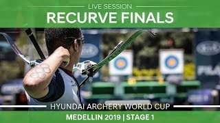 Live Session: Recurve mixed team and individual finals | Medellin 2019 World Cup S1