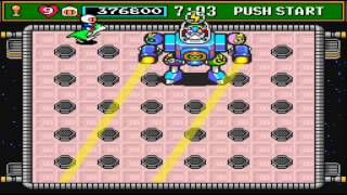 Super Bomberman 3 Final Zone Boss - Bagular & Bomberzord