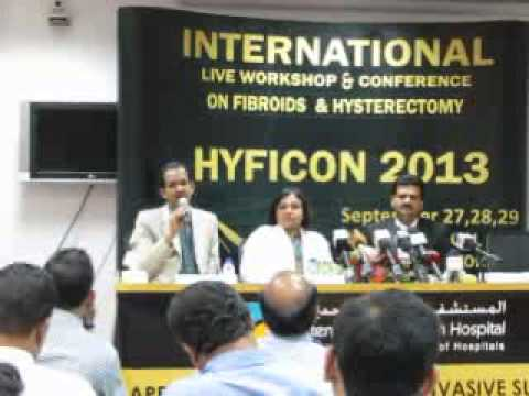 Press Conference for HYFICON 2013 held at Dubai on 23-9-2013