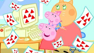 Peppa Pig Official Channel | Peppa Pig Works at Daddy Pig's Office