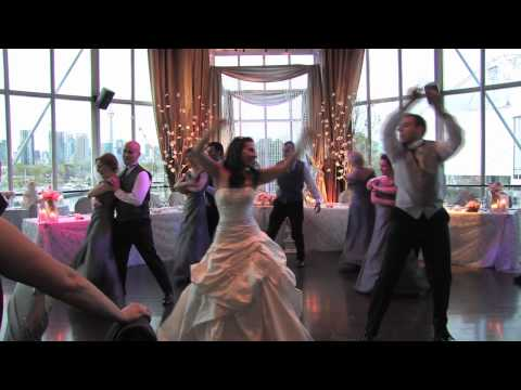 I Gotta Feeling - Surprise Wedding Entrance Dance - Black Eyed Peas - JR MM - May 15, 2010