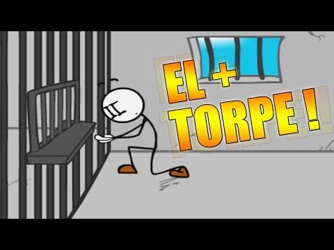EL PRISIONERO MAS TORPE !! - Escaping The Prison   Fernanfloo