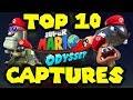 TOP 10 Captures in Super Mario Odyssey!