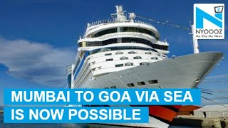 Now travel Mumbai-Goa via sea for the first time
