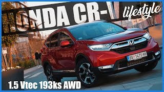 Test NOVE HONDE CR-V 1.5 Vtec 193ks CVT AWD lifestyle