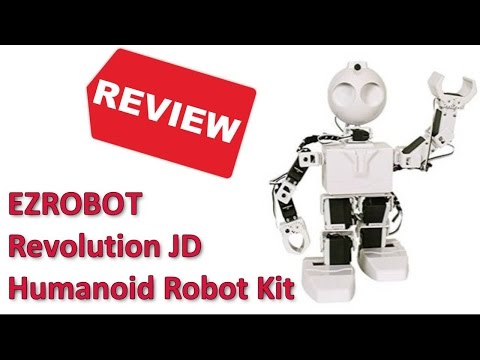 EZROBOT Revolution JD Humanoid Robot Kit Review