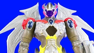 Power Rangers Megazord Helps Spider-man Defeat The Imaginext Goldar Family