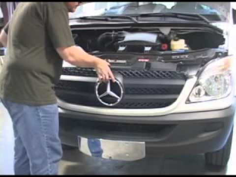 How to Install Mercedes Sprinter Grille. Parts. Accessories   Sprinter Parts Depot