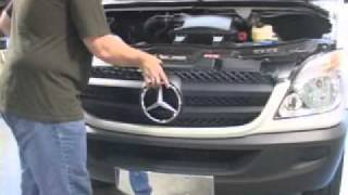 How to Install Mercedes Sprinter Grille, Parts, Accessories | Sprinter Parts Depot