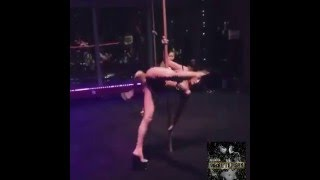 Sexy Pole dance routine to Brittnye B - Make it Rain #makeitrainchallenge