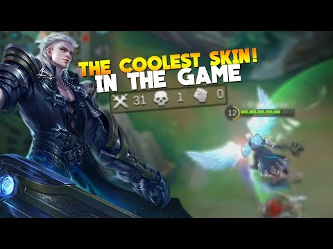 Mobile Legends Alucard New Skin Gameplay! (Child of the Fall)