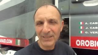 Dakar 2015: Antonio Cabini e la sua Dakar 2015 al giorno di riposo