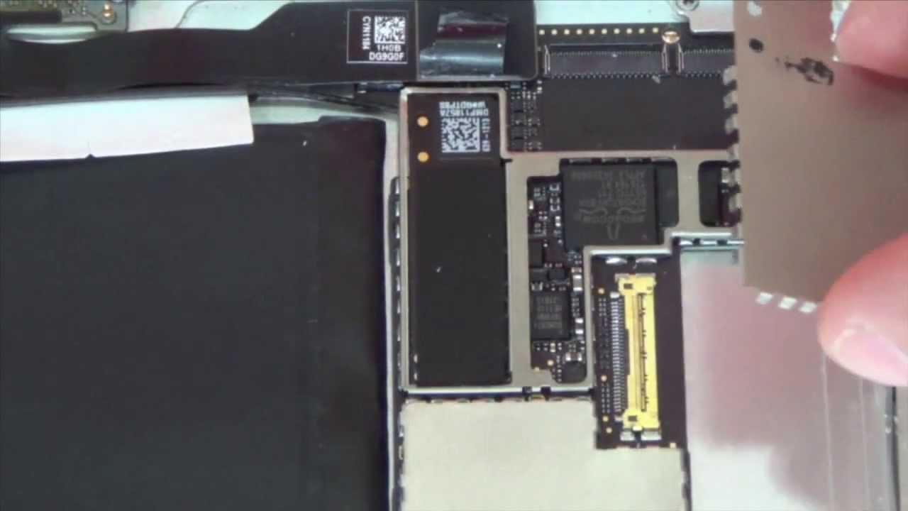 Ipad 2 c mo cambiar el cable flex de la antena wifi youtube - Cable de antena ...