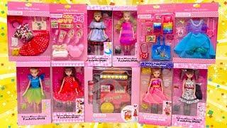 Tokyo Disney Resort Fashion Doll New Toy Haul Disney Princess Dress Costume Unboxing