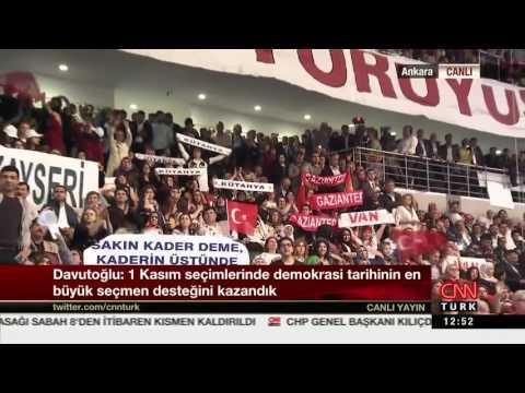 Ahmet Davutoğlu Kongre VEDA KONUŞMASI 22 Mayıs 2016