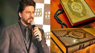 Shahrukh||khan||Quran||Sharif||comments||terrorism||Muslim||nahi||hai¿?
