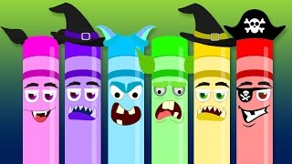Scary Crayons Song | Songs for Kids | Nursery Rhymes for Kids