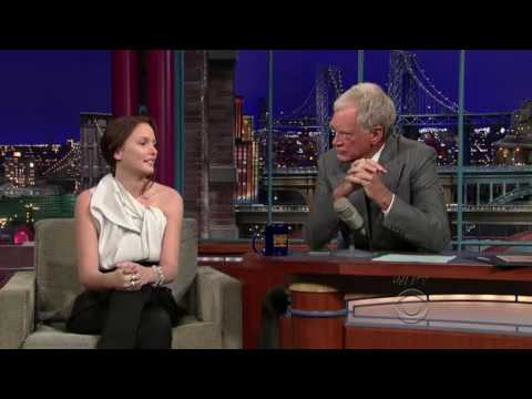 Leighton Meester on David Letterman *HD* (09.11.09)