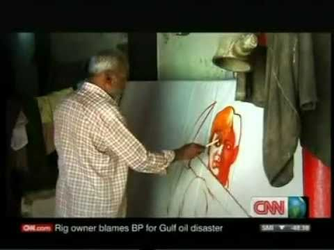 Hand painted vintage Bollywood film posters now extinct - CNN International Icon show