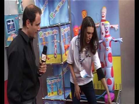 Clubit TV at London Toy Fair 2010 - Pumpaloons review