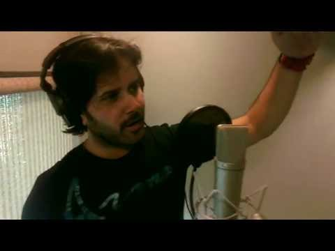 Javed Ali (diya Aur Baati Hum Song Recording) - Making video