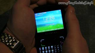 Alcatel one touch 813D - Demo Antennagate