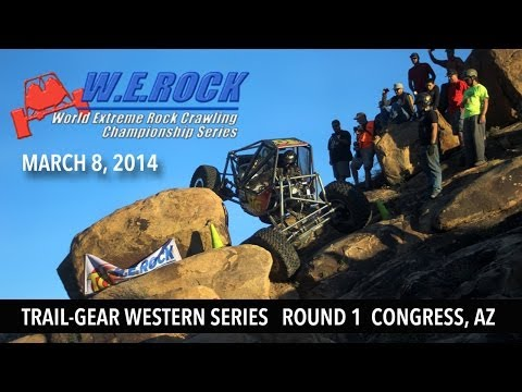 W.E.Rock Trail-Gear Western Series Round 1 Congress AZ 2014