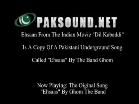 Ehsaan From Dil Kabaddi Is A COPY Of Pakistani Song! Listen...