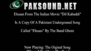 """""""Ehsaan"""" From Dil Kabaddi Is A COPY Of Pakistani Song! [Listen To Both!]"""