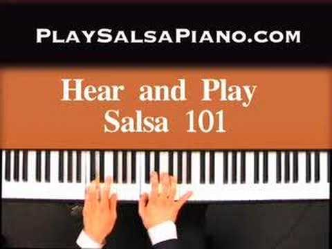 Salsa Piano By Ear Keyboard Lesson Sample of Jeff's Playing Music Videos