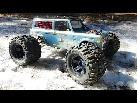 RC ADVENTURES - Traxxas Summit Bronco - Rigid Industries Lightbar