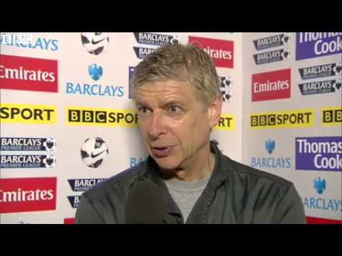Arsenal 4-1 Wigan - Arsene Wenger (14-05-13)