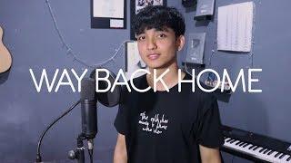 숀 (SHAUN) - Way Back Home (ft. Conor Maynard) Cover by Reza Darmawangsa