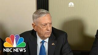 Defense Secretary James Mattis: USS McCain Crash Under Investigation | NBC News