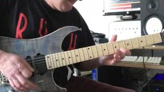 Van Halen Eruption cover