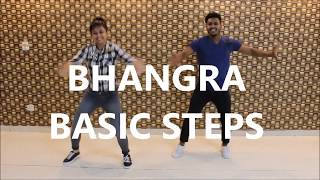 Bhangra basic steps #5 | bhangra Tutorial | easy steps for bhangra by The dance mafia