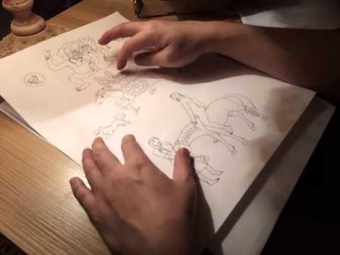 Sex Jirug (painting Art) video