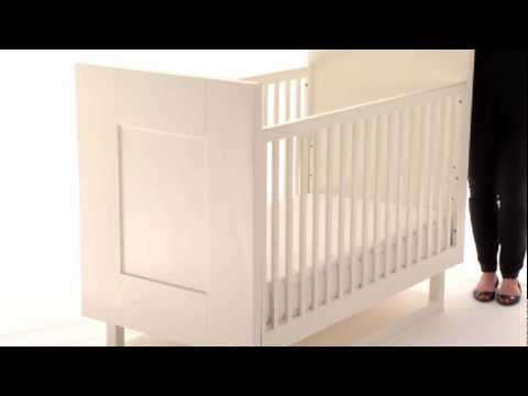 0 Add Functionality and Style to the Nursery with the Mercer Baby Crib | Pottery Barn Kids