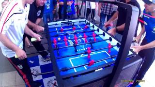 2016 Beijing Foosball Open Pro Doubles Final Part 1