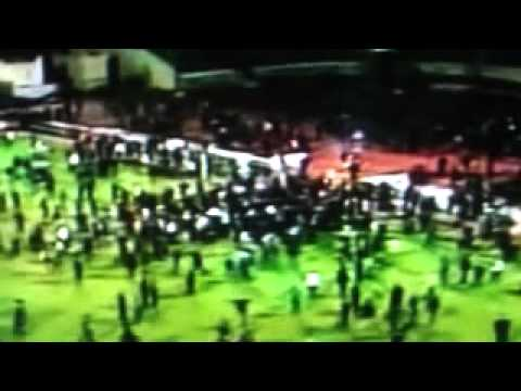 Egyptian soccer game turns violent, 73 dead